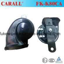 Súper resistente al agua Car Horn Motorcycle cuerno musical Compact Snail cuerno Fk-K80ca