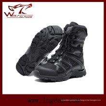 Resistente a las sacudidas militar táctica botas Anti pinchazo ejército botas