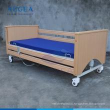 АГ-MC002 деревянная рама пожилых здравоохранения складной электрический помощь используется дом престарелых кровати
