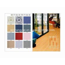 Indoor PVC espuma Foaming Floor Covering em Designs de Moda