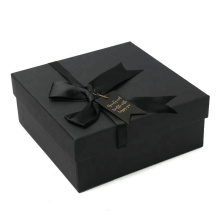 Large size blue color wedding candy box,square rigid box,2 piece sturdy gift box
