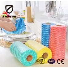 Tissu non tissé Spunlace de haute qualité pour le nettoyage de la cuisine