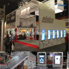double deck trade show booth displays double deck system stand