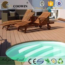 Decoración ecológica de la piscina de la piscina de la decoración wpc decking / flooring al aire libre