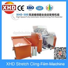 Máquina automática de rebobinado de película, Máquina automática de rebobinado de película automática