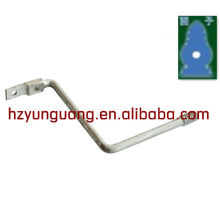 guy wire forged steel bracket electric power line connect fitting hot dip galvanized Z mounting bracket