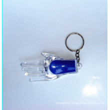Plastic LED Key Chain Light (KC-53)