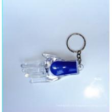 Plástico levou luz da corrente chave (kc-53)