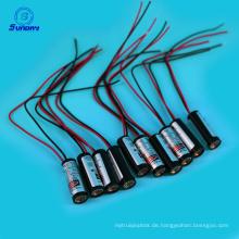 24V rote Lasermodule 650nm 635nm 10mm