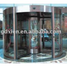 Fornecimento Portas automáticas-CN- 3-4 asas porta giratória automática CN-Rs301