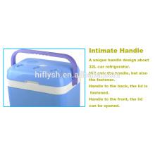 HF-32L(104) DC 12V/AC 220V Car Refrigerator Home and Car double Use Refrigerator Mini car refrigerator(CE certificate)