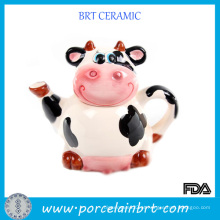 Bule De Cerâmica De Porcelana Sweet Cow