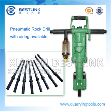 Portable Pneumatic Rock Drilling Equipment for Quarrying Marble
