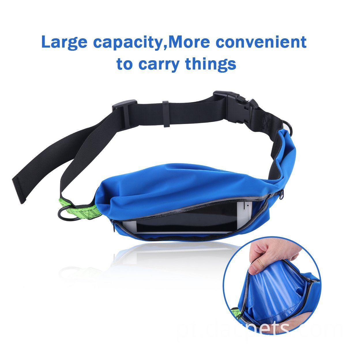 Hands-Free Running Dog Leash with Pounches