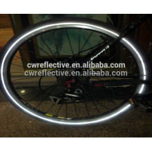high visibility reflective bicycle custom decals tire tape for safety