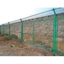 Antikorrosions-Rahmen-Zaun in der Fabrik für Eisenbahn