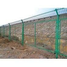 Clôture de cadre anti-corrosif dans l'usine pour le chemin de fer