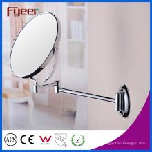 Miroir de maquillage de mur pliable de retournement latéral de Fyeer double (M0128)