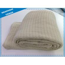 Manta de tiro de cubierta de cama de lana sintética