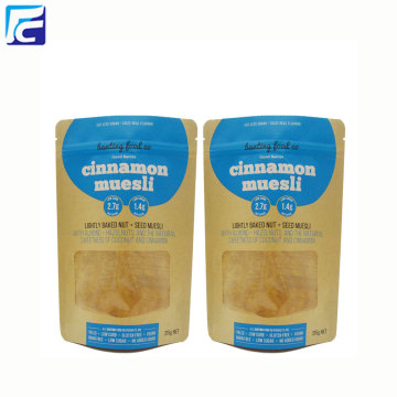 Wholesale Kraft Paper Mylar Bags With Ziplock