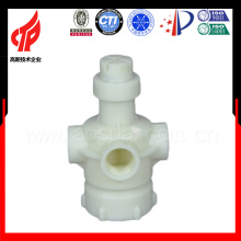 Cabeça de aspersão de material ABS ABS de 1,5 polegadas com 4 furos para distribuidor de água da torre de resfriamento