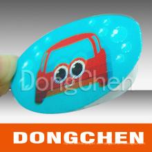 Etiqueta engomada de encargo impresa reflexiva adherente del coche de la impresión a todo color del diseño