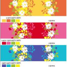 100% Polyester bedrucktes Mikrofaser-Material