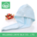 quick drying microfiber hair drying towel for lady