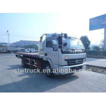 IVECO 3800mm flat tow truck wrecker truck one drive two