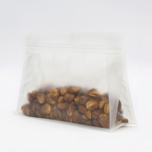 Matte 8-kanten zegel Stand Up Plastic Bag Food