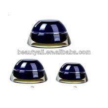 Cosméticos acrílicos Jar cosméticos crema frascos de acrílico para cosméticos
