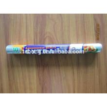 Rouleau de papier d'aluminium 11 mic, 12 pouces Largeur x 500ft Longueur Emballage durable Standard