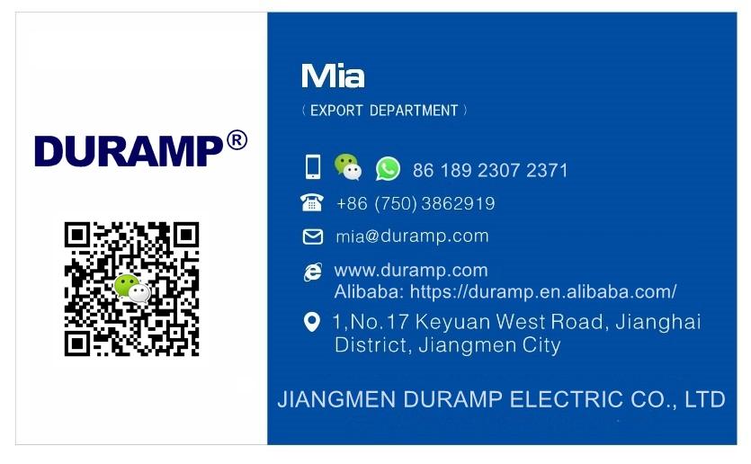 Duramp Mia Contact