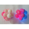 Flashing Two-tone Atom Knobby Bounce Balls