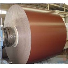 Bobine en acier recouverte de couleur professionnelle conçue