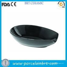Titular de cuchara al por mayor de porcelana negro