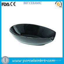 Porcelain Black Wholesale Spoon Holder