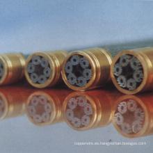 Alambre de acero fosfatado para cable de fibra óptica