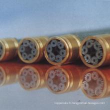Fil d'acier de phosphatation pour le câble de fibre optique