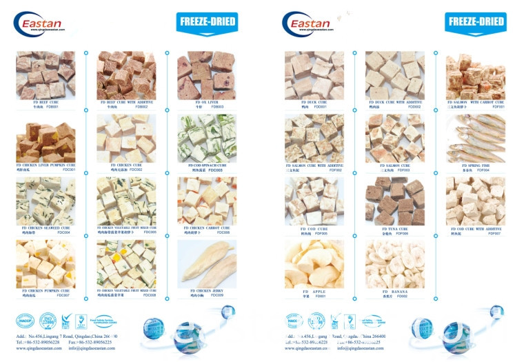 100%natural Freeze-dry Dog Snacks