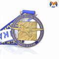 Benutzerdefinierte Auszeichnung Emaille Runde Metall Flugzeugmedaillen