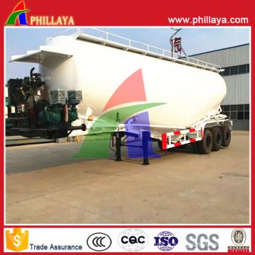 Citerne de ciment en vrac de 3 essieux de 55m 65t pour Oman