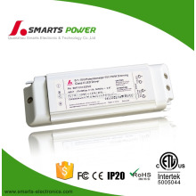 ETL FCC listed Triac dimmable constant voltage 12v 20w non-waterproof led driver