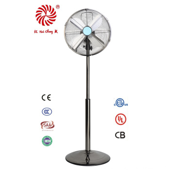 """Antique 12"""" Electric Metal Stand Fan for Industrial"""