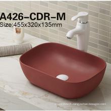Bassin en céramique de bas prix de Chine dans l'évier de salle de bains
