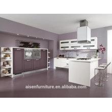 China equipamento de cozinha industrial armário de PVC / armário com ilha