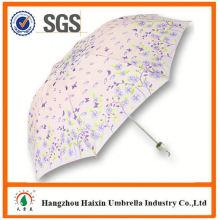 OEM/ODM Factory Wholesale Parasol Print Logo customized mini 3 folding umbrella