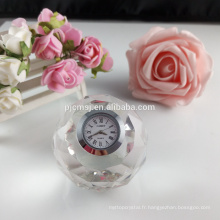 Wholesale boule de cristal horloge de table