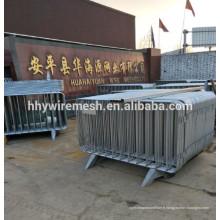 clôture temporaire galvanisée soudée exportation Australie clôture mobile portable temporaire