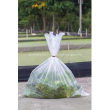 Sac plat en plastique pour le stockage des aliments frais jetables